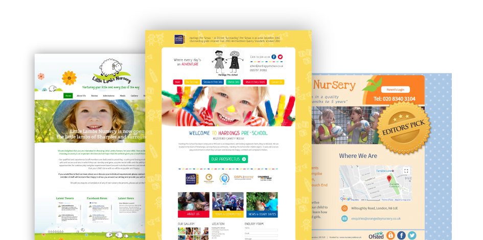 NurseryWeb Portfolio Banner
