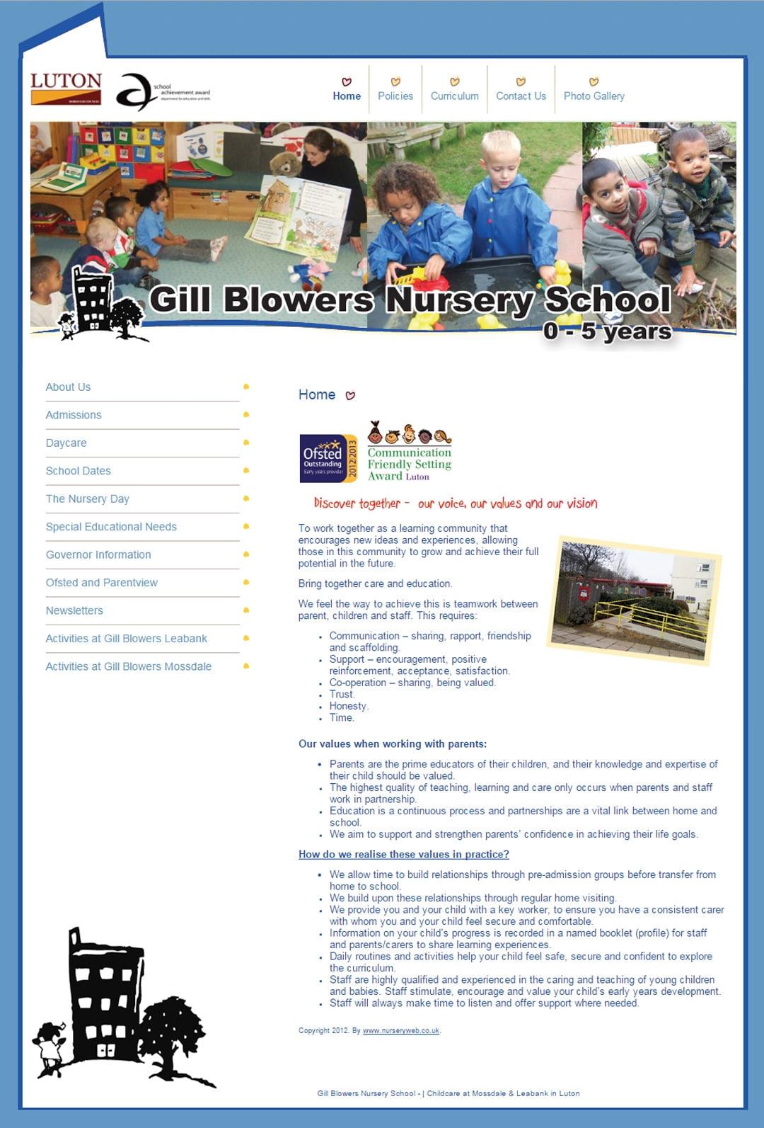 Gill Blowers Nursery School