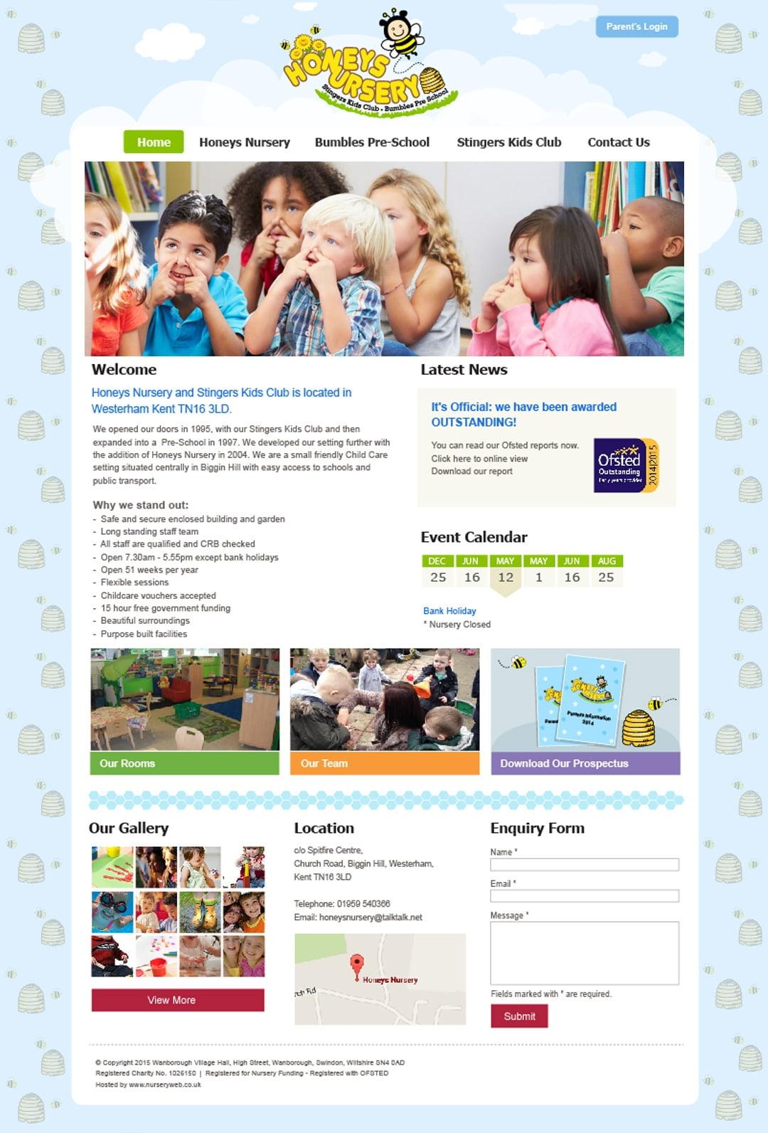 Honeys Nursery and Stingers Kids Club