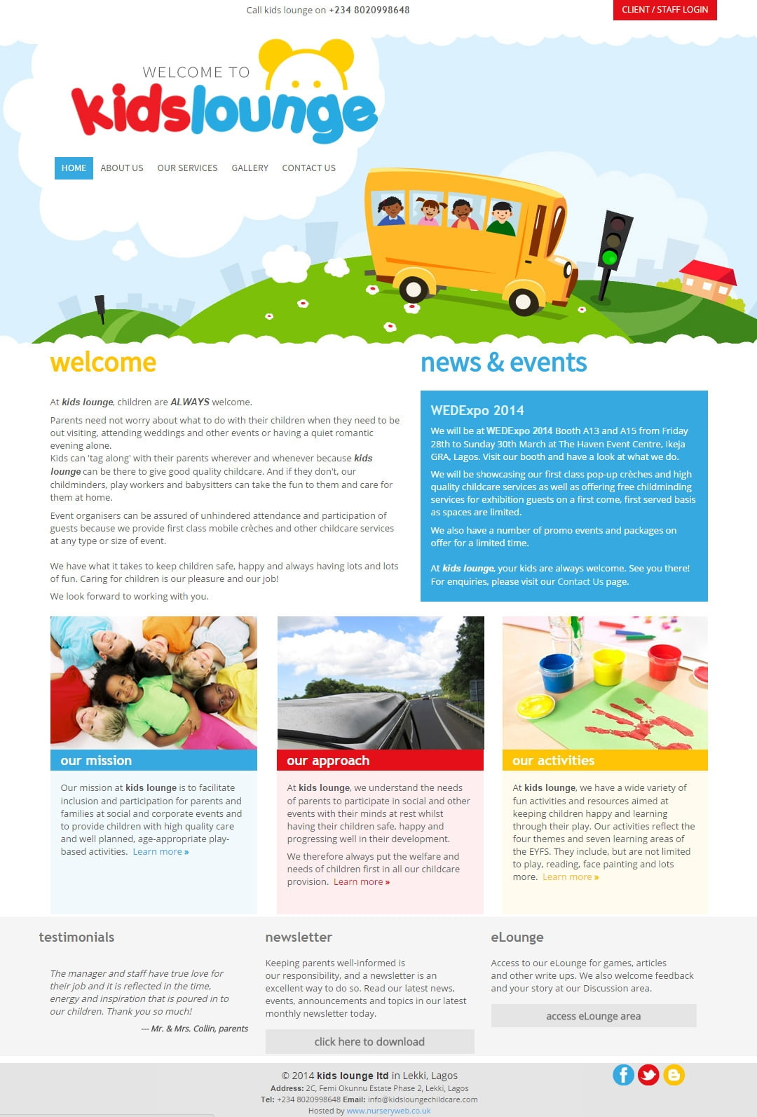 Kids Lounge Childcare
