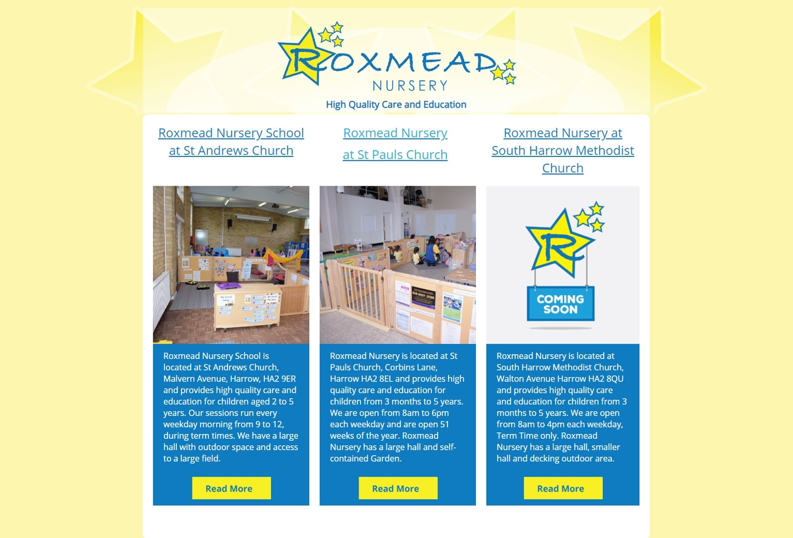 Roxmead Nursery