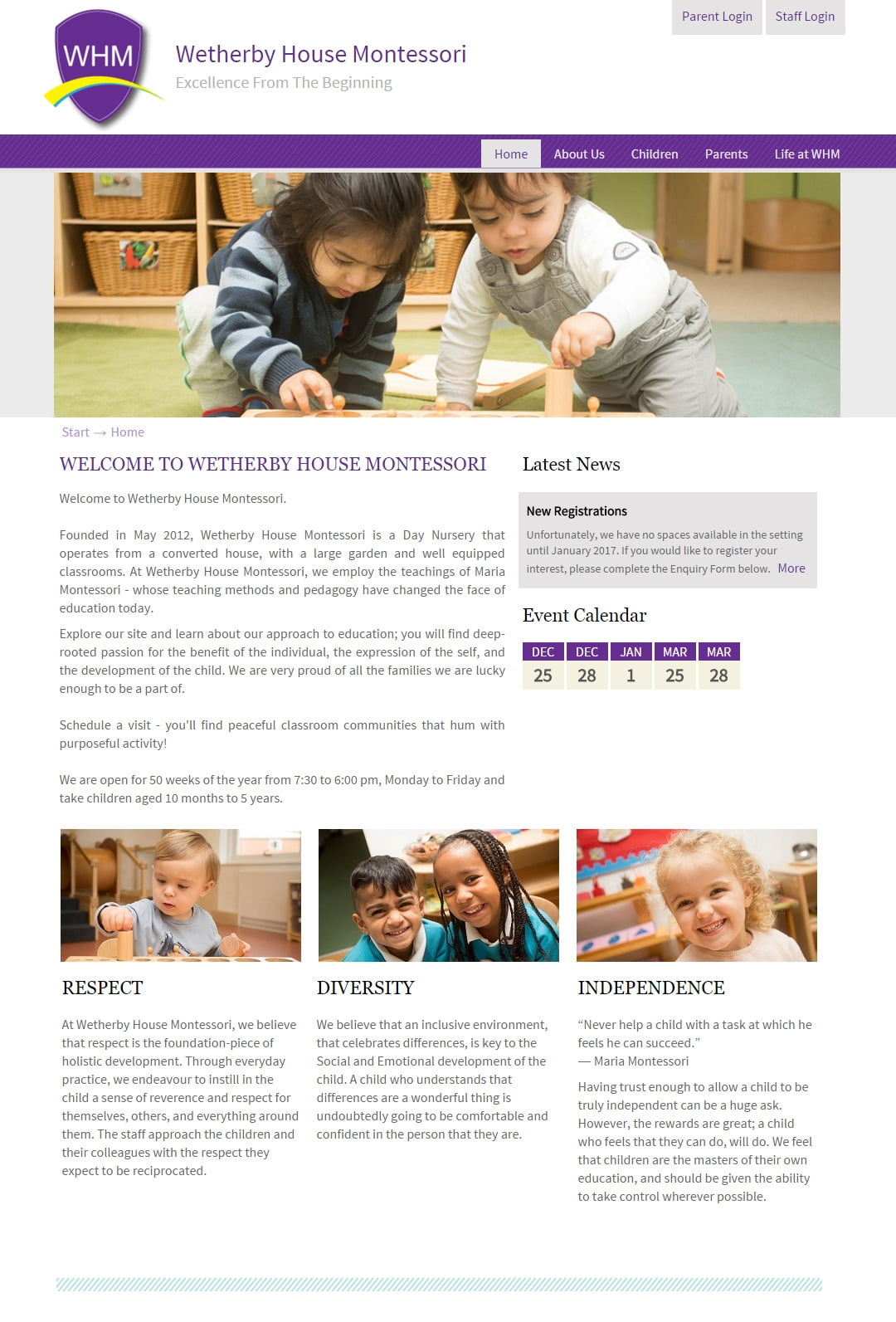 Wetherby House Montessori