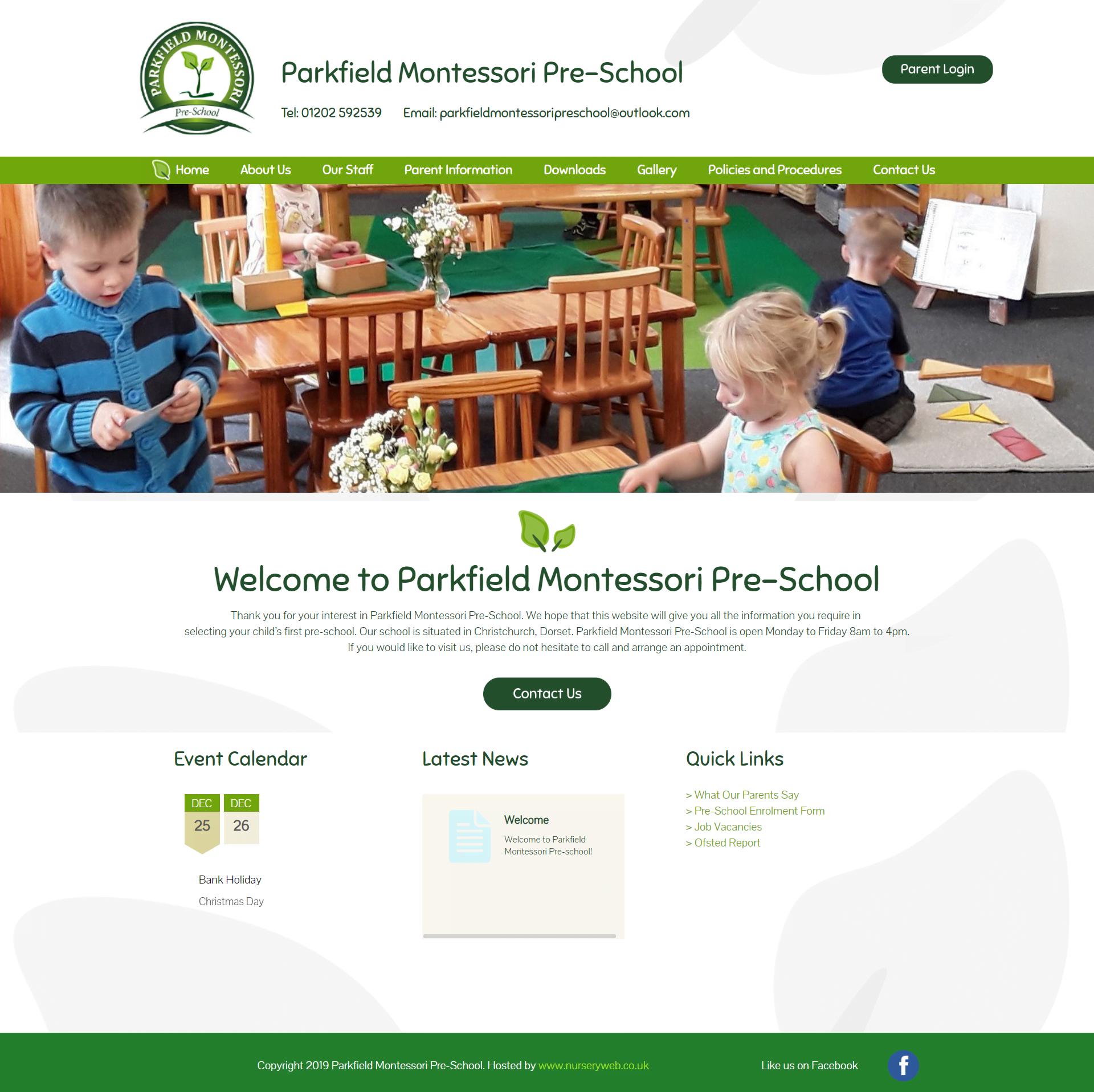 parkfield montessori preschool
