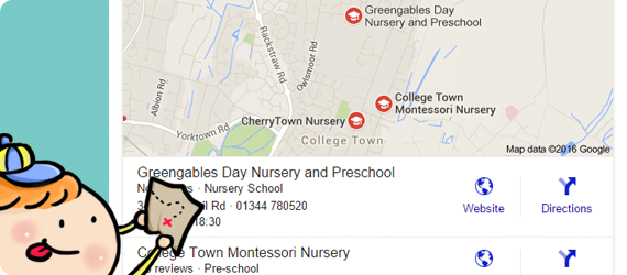 Nursery Web - Business Listing