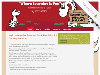 NurseryWeb - Astwood Bank Pre-School & Nursery Website Design