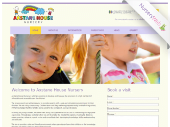 NurseryWeb - Axstane House Nursery Website Design