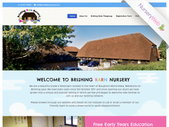 NurseryWeb - Brishing Barn Nursery Website Design
