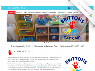 NurseryWeb - Brittons Day Care Website Design