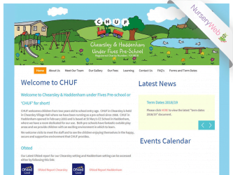 NurseryWeb - Chuf Pre-School Website Design