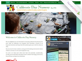 NurseryWeb - Caldecote Day Nursery Website Design