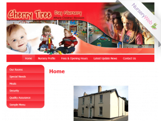 NurseryWeb - Cherry Tree Day Nursery Website Design
