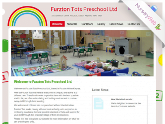 NurseryWeb - Furzton Tots Pre-School Website Design