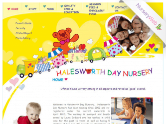 NurseryWeb - Halesworth Day Nursery Website Design