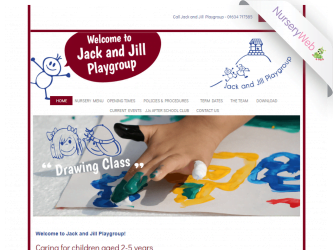 NurseryWeb - Jack n Jill Playgroup Website Design