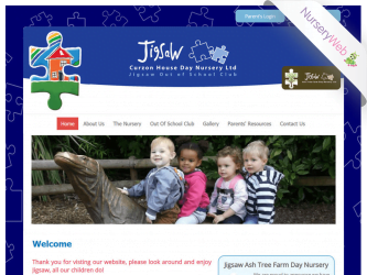 NurseryWeb - Jigsaw Curzon House Day Nursery Website Design