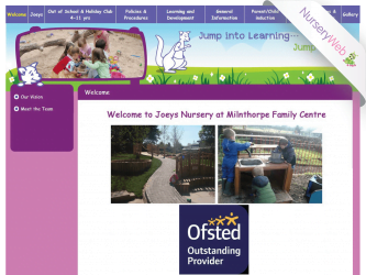 NurseryWeb - Joeys Nursery Website Design