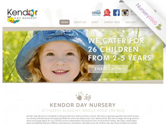 NurseryWeb - Kendor Day Nursery Website Design
