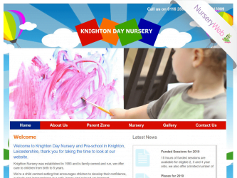 NurseryWeb - Knighton Day Nursery Website Design