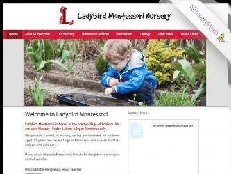 NurseryWeb - Ladybird Montessori Nursery