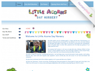 NurseryWeb - Little Acorns Day Nursery