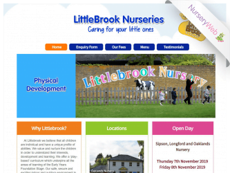 NurseryWeb - Little Brook Nurseries Website Design