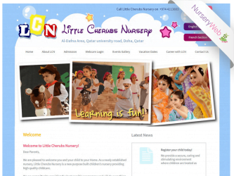 NurseryWeb - Little Cherubs Nursery Website Design