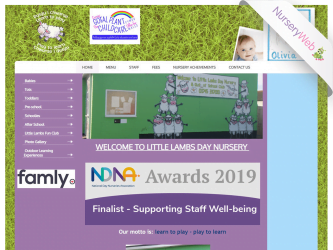 NurseryWeb - Little Lambs Day Nursery Website Design