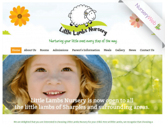 NurseryWeb - Little Lambs Nursery Website Design