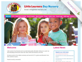 NurseryWeb - Little Learners Day Nursery Website Design