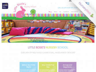 NurseryWeb - Little Rossie's Nursery School Website Design