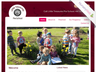 NurseryWeb - Little Treasures Pre-School Website Design