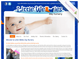 NurseryWeb - Little Wellies Day Nursery Website Design