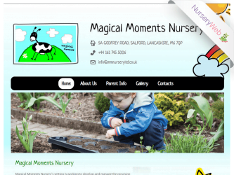 NurseryWeb - Magical Moments Nursery Website Design