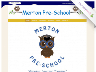 NurseryWeb - Merton Pre-School Website Design