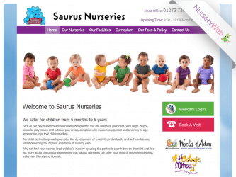 NurseryWeb - Saurus Nurseries Website DEsign