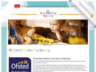 NurseryWeb - Sunshine Day Nursery Website Design
