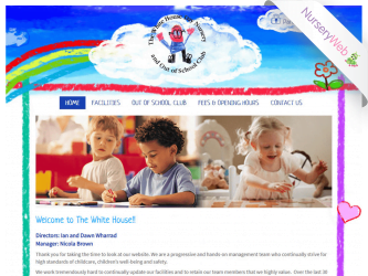 NurseryWeb - The White House Day Nursery Website Design