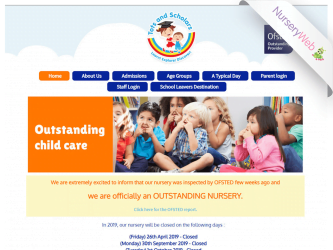NurseryWeb - Tots & Scholars Website Design
