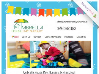 NurseryWeb - Umbrella House Day Nursery Website Design