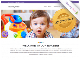 NurseryWeb - Demo1 Website Design