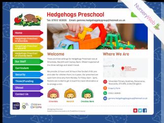 Hedgehogs-Preschool